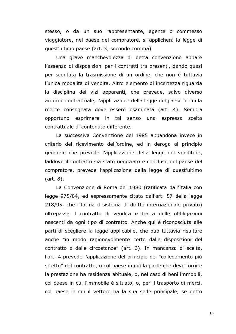 Anteprima della tesi: I Contratti Internazionali: Il Caso Seieffe - Company, Pagina 7