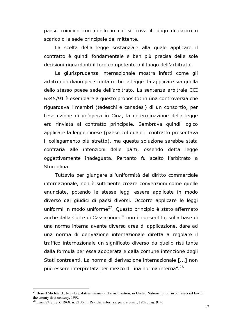 Anteprima della tesi: I Contratti Internazionali: Il Caso Seieffe - Company, Pagina 8