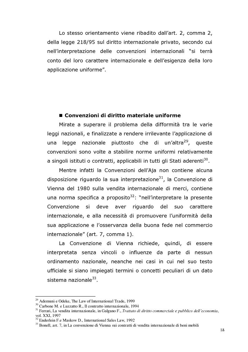 Anteprima della tesi: I Contratti Internazionali: Il Caso Seieffe - Company, Pagina 9