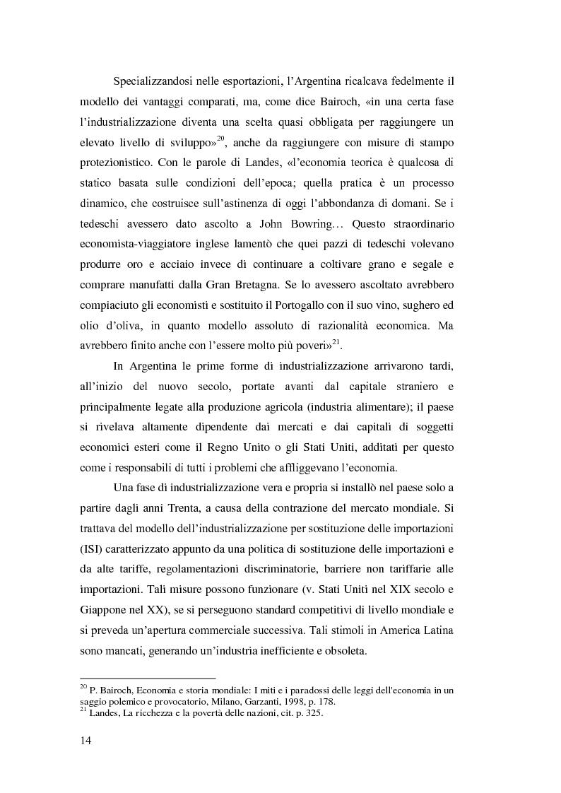 Anteprima della tesi: Argentina 2001: una crisi lunga venticinque anni, Pagina 11