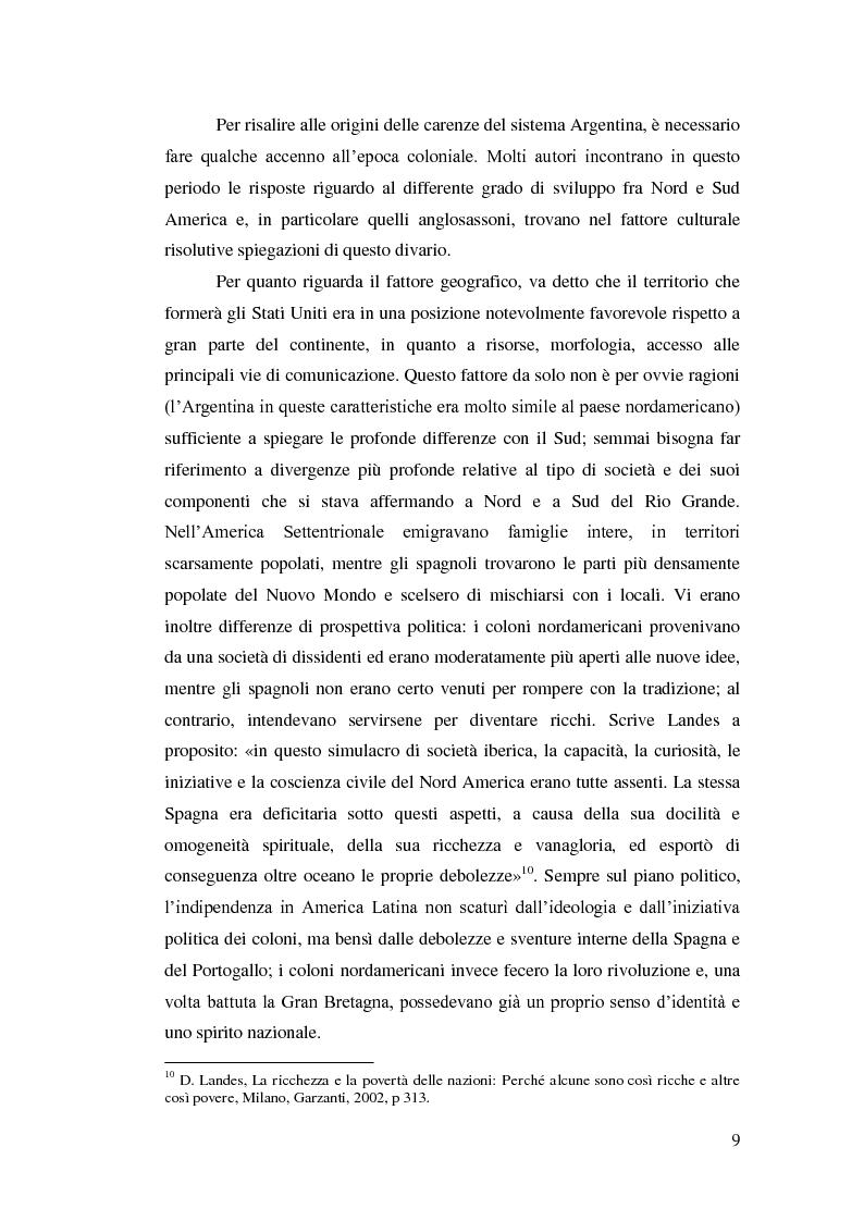 Anteprima della tesi: Argentina 2001: una crisi lunga venticinque anni, Pagina 6