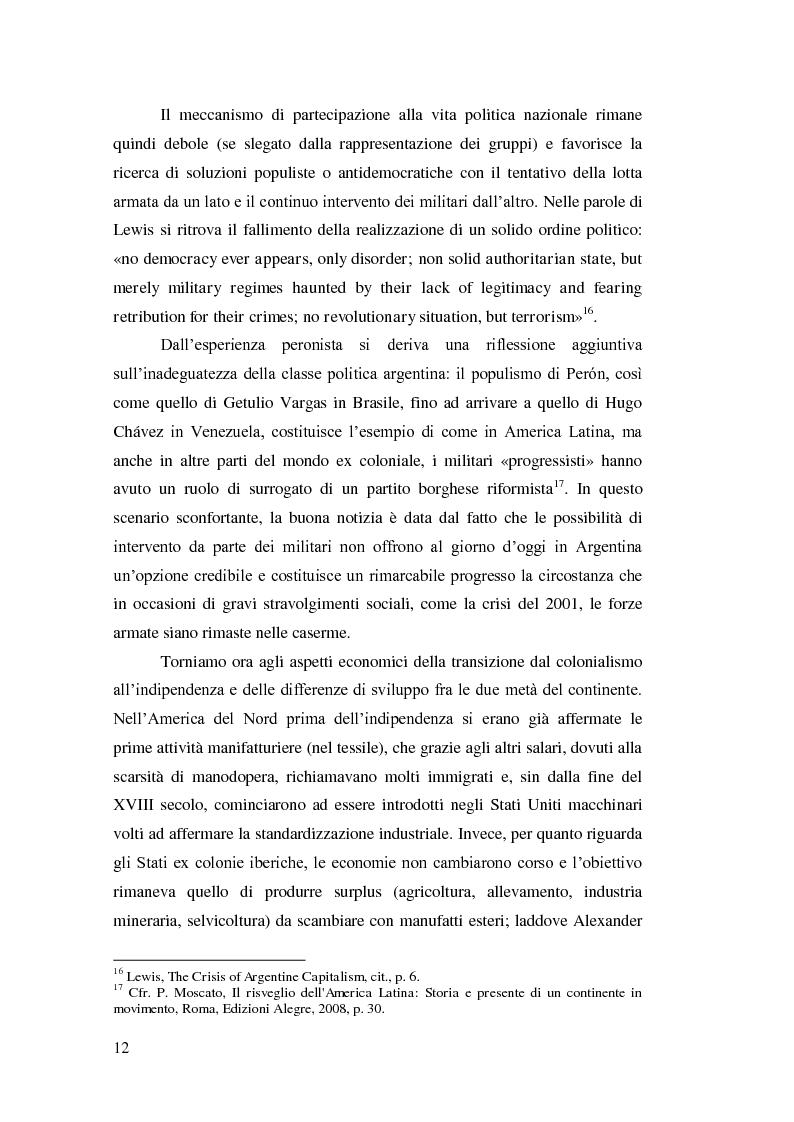 Anteprima della tesi: Argentina 2001: una crisi lunga venticinque anni, Pagina 9