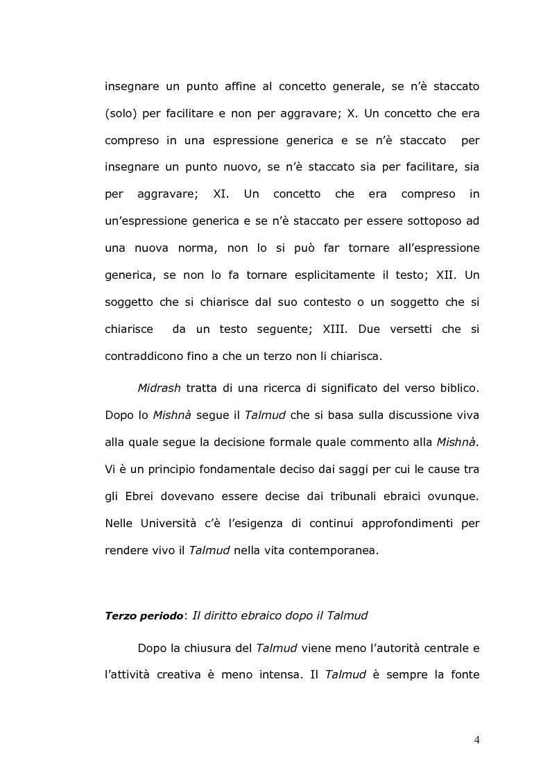 Anteprima della tesi: Rilevanza civile del matrimonio ebraico, Pagina 5