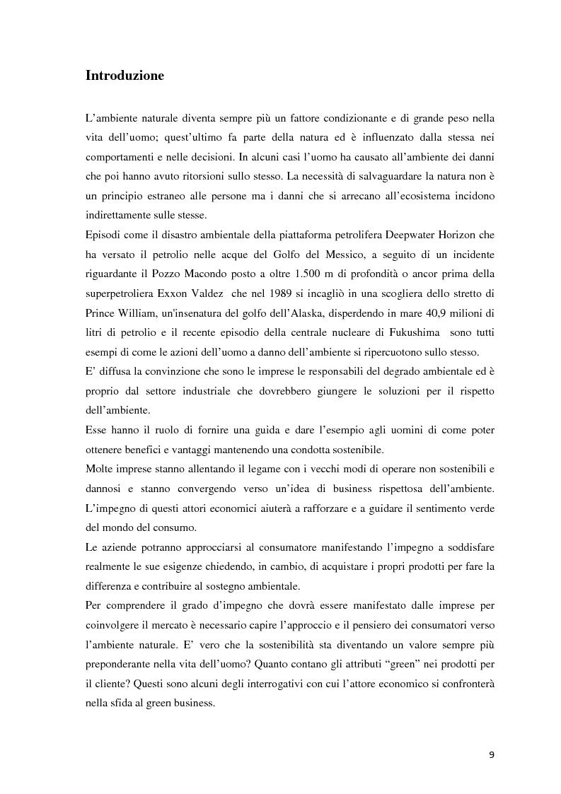Anteprima della tesi: Il green marketing come leva del vantaggio competitivo nella green economy: il caso Palazzetti Lelio S.p.A., Pagina 2
