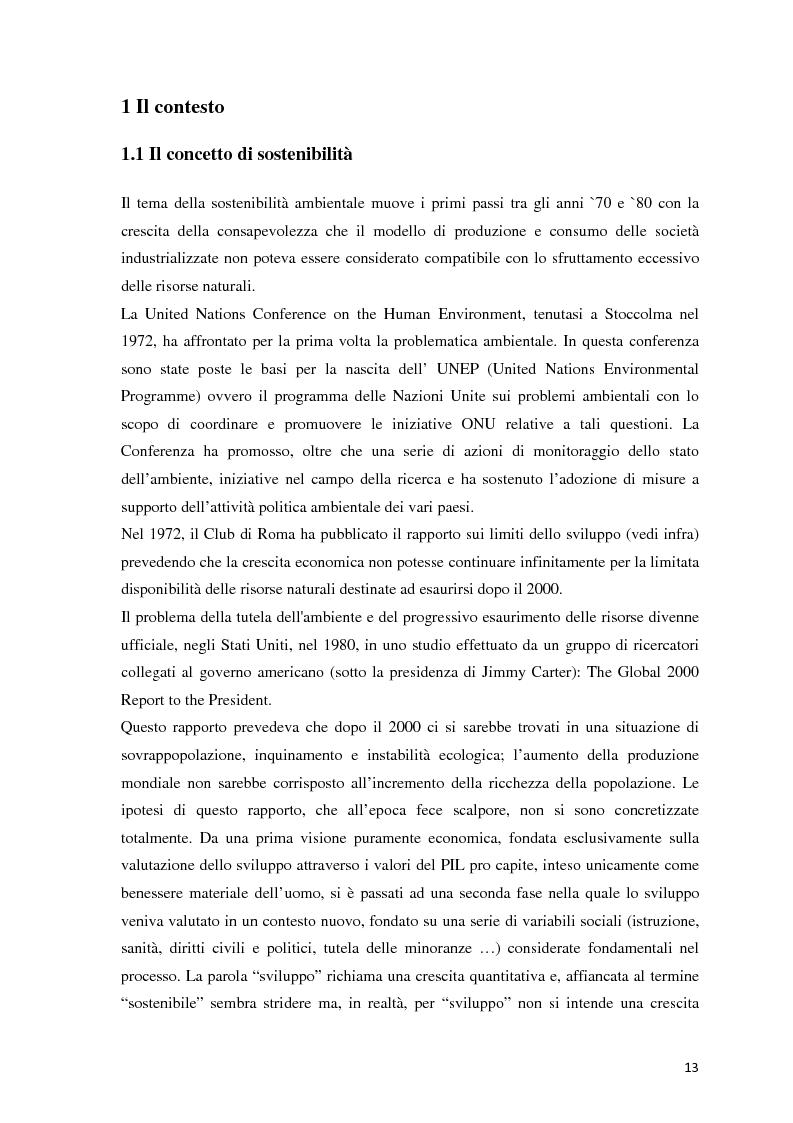 Anteprima della tesi: Il green marketing come leva del vantaggio competitivo nella green economy: il caso Palazzetti Lelio S.p.A., Pagina 6
