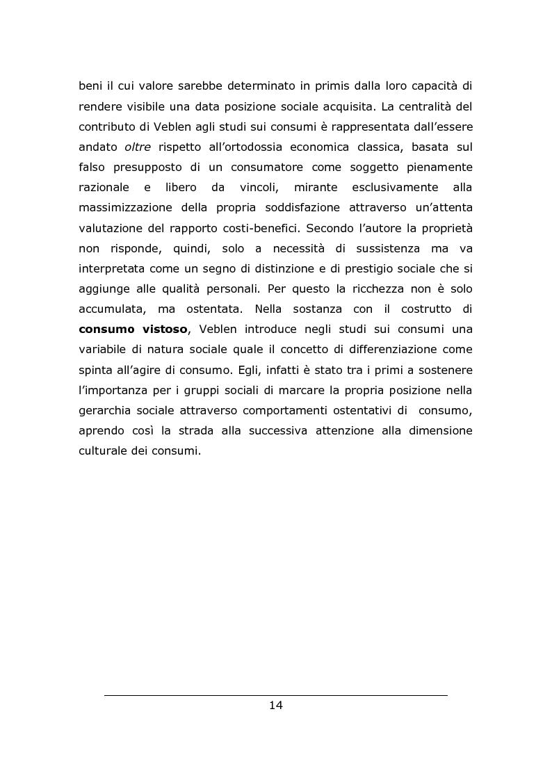 Anteprima della tesi: Consumo vistoso e di status nella ''nuova'' Cina urbana: ricerca ed osservazione nello Jiangsu, Pagina 11