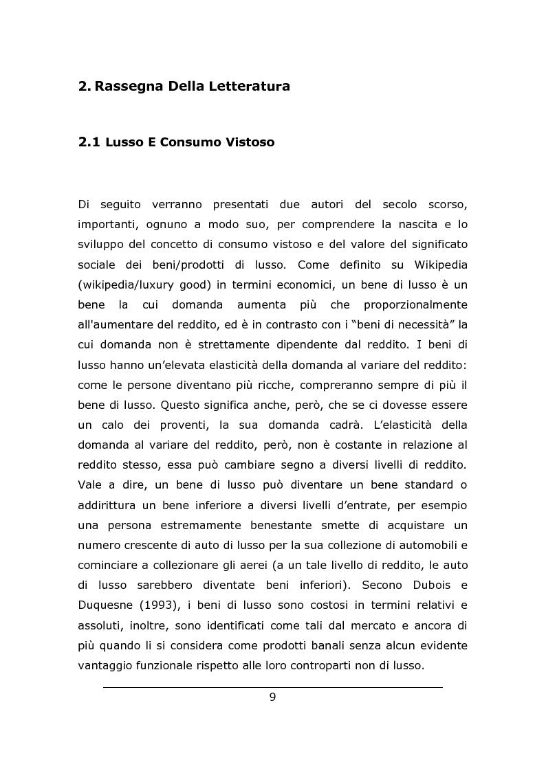 Anteprima della tesi: Consumo vistoso e di status nella ''nuova'' Cina urbana: ricerca ed osservazione nello Jiangsu, Pagina 6
