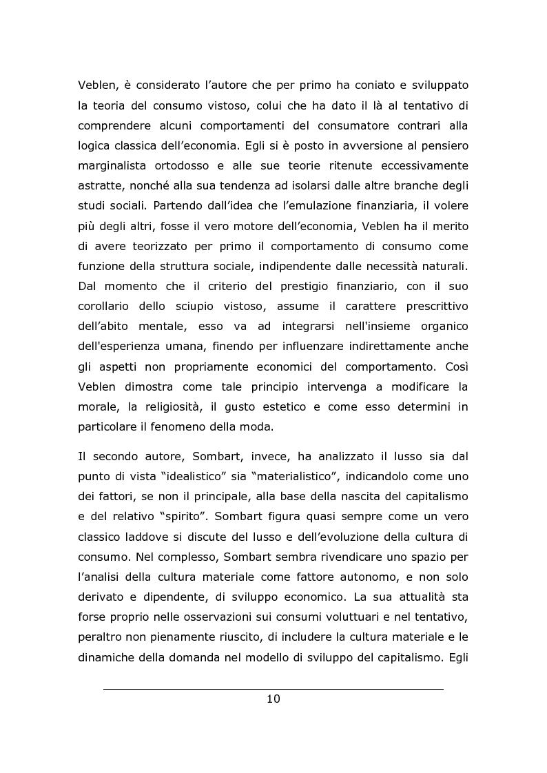 Anteprima della tesi: Consumo vistoso e di status nella ''nuova'' Cina urbana: ricerca ed osservazione nello Jiangsu, Pagina 7