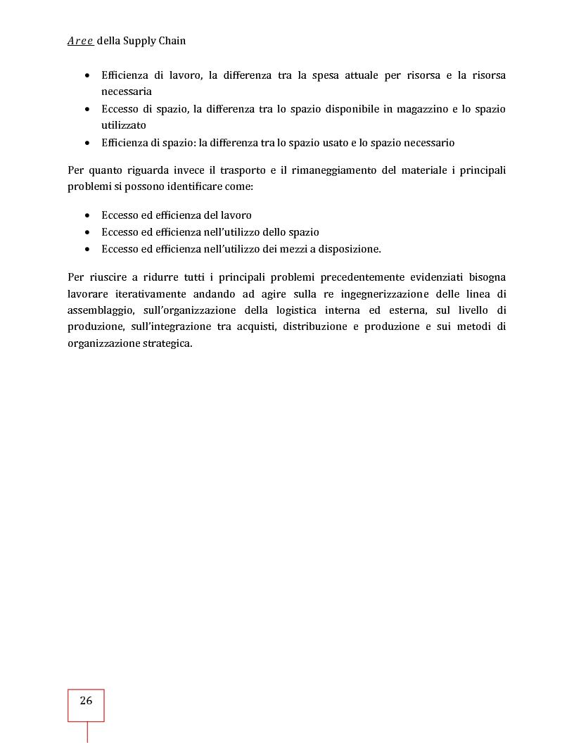 Anteprima della tesi: Performance Management applicato ad una Supply Chain: il caso CNH Italia Spa, Pagina 13