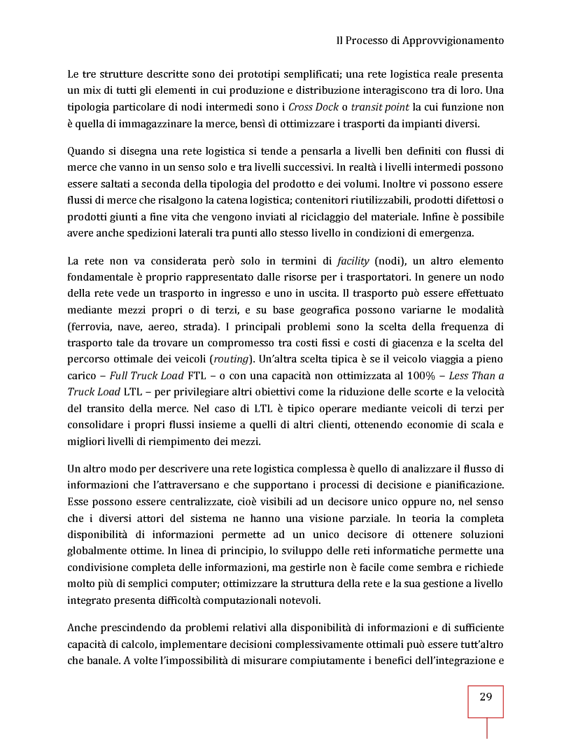 Anteprima della tesi: Performance Management applicato ad una Supply Chain: il caso CNH Italia Spa, Pagina 16