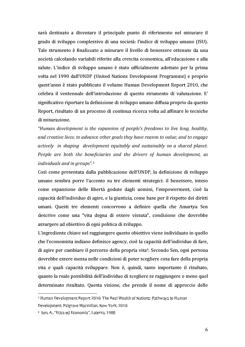 Anteprima della tesi: Green microfinance: microcredito come investimento per iniziative sostenibili, Pagina 5