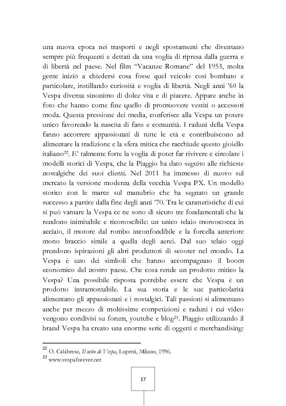 Anteprima della tesi: Il potere dei grandi miti del consumo. Marche e prodotti di culto sotto il riflettore, Pagina 3