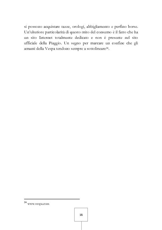 Anteprima della tesi: Il potere dei grandi miti del consumo. Marche e prodotti di culto sotto il riflettore, Pagina 4