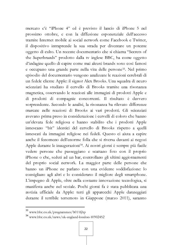 Anteprima della tesi: Il potere dei grandi miti del consumo. Marche e prodotti di culto sotto il riflettore, Pagina 8