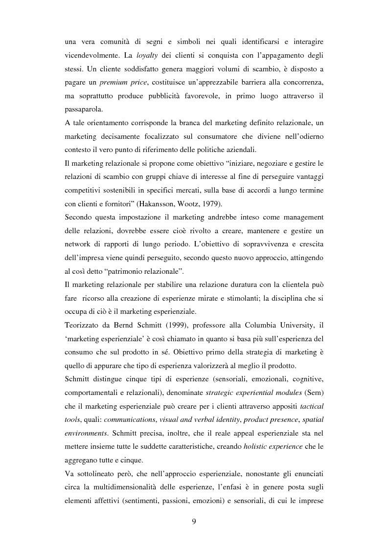 Anteprima della tesi: Il ruolo delle emozioni in pubblicità: analisi del caso aziendale CheBanca!, Pagina 10