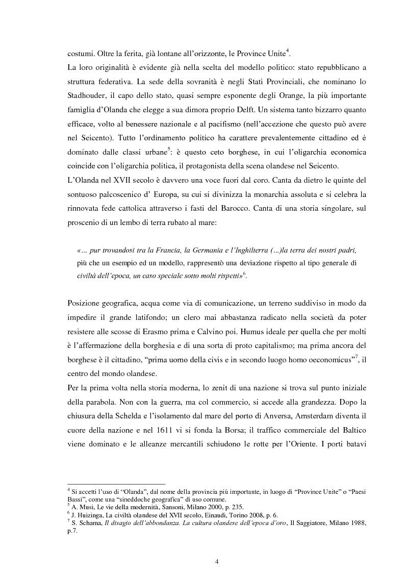 Anteprima della tesi: La musica nei dipinti di Vermeer: Variazioni sul tema del silenzio, Pagina 3