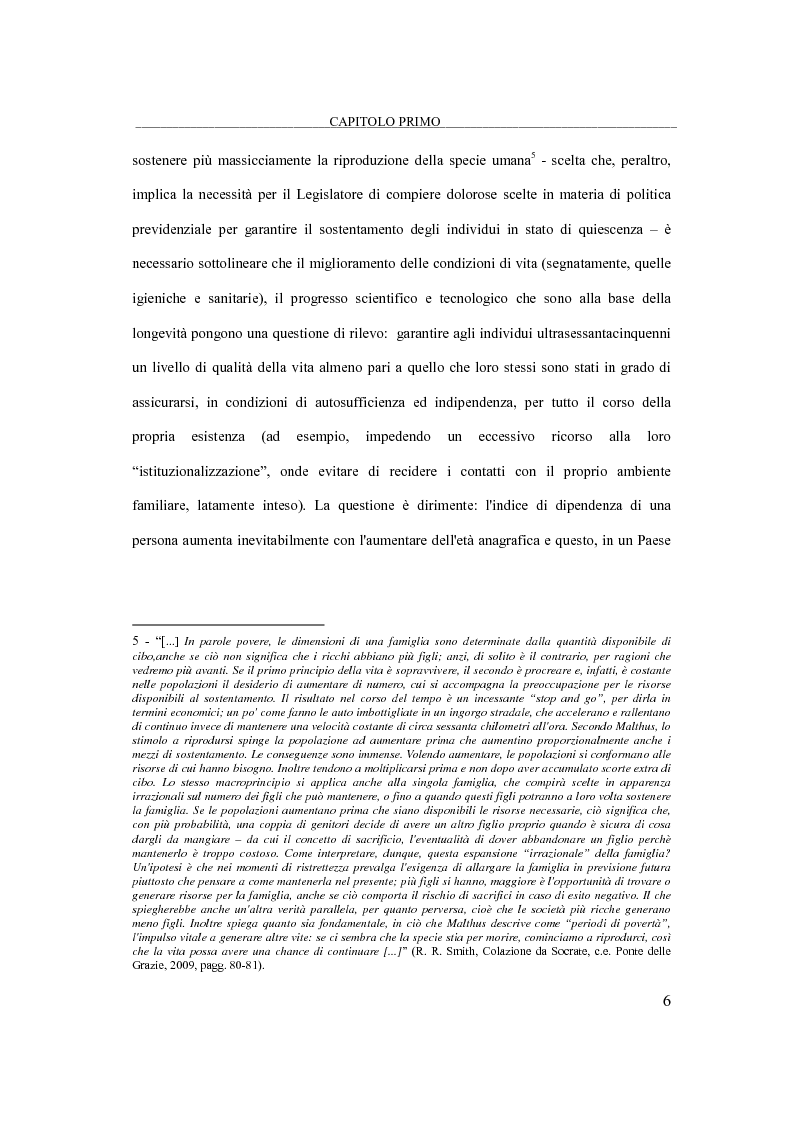 Anteprima della tesi: Il bilancio di esercizio delle RSA e trend demografici, Pagina 5