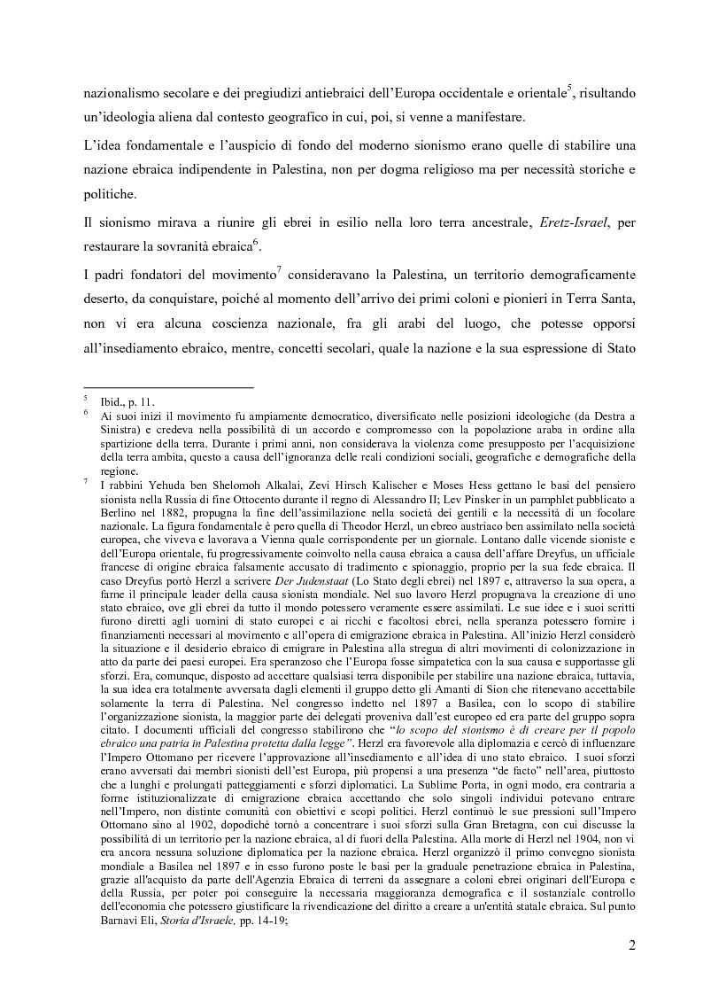 Anteprima della tesi: L'opzione nucleare nella geopolitica e nella strategia israeliana, Pagina 10
