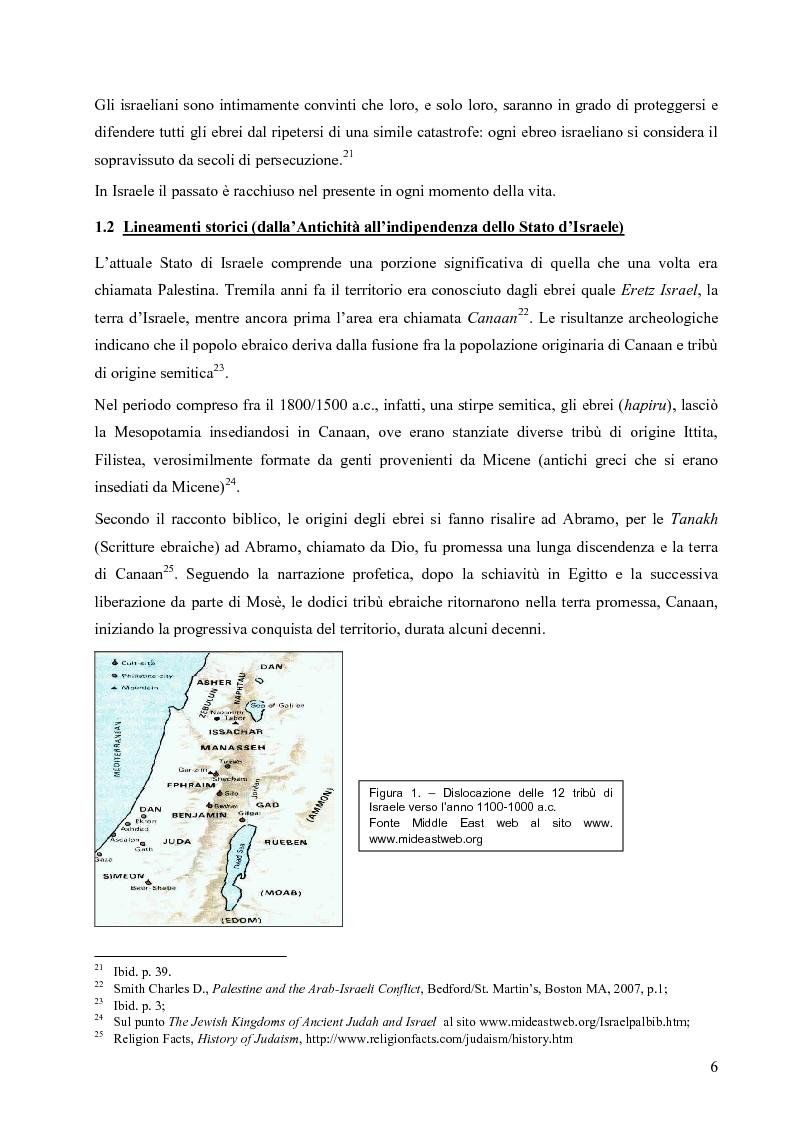 Anteprima della tesi: L'opzione nucleare nella geopolitica e nella strategia israeliana, Pagina 14
