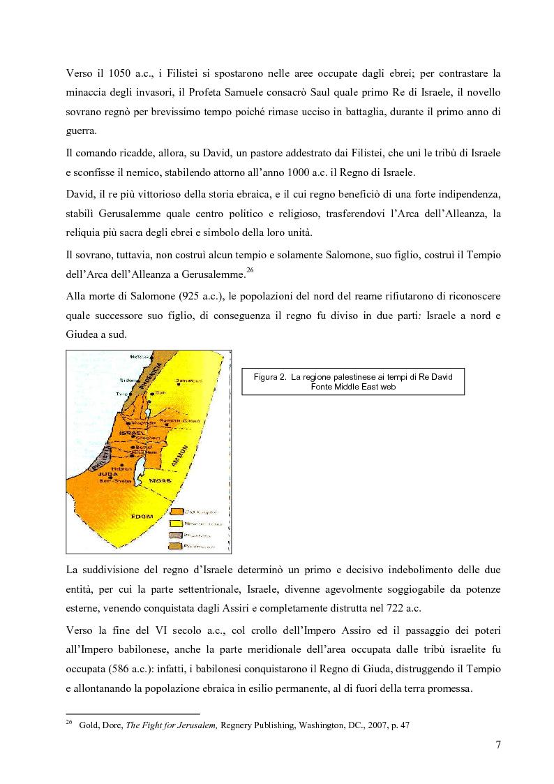 Anteprima della tesi: L'opzione nucleare nella geopolitica e nella strategia israeliana, Pagina 15