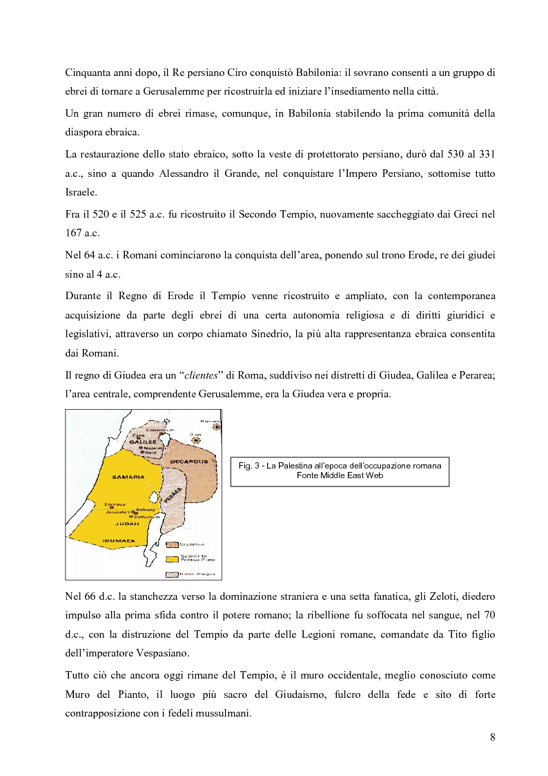 Anteprima della tesi: L'opzione nucleare nella geopolitica e nella strategia israeliana, Pagina 16