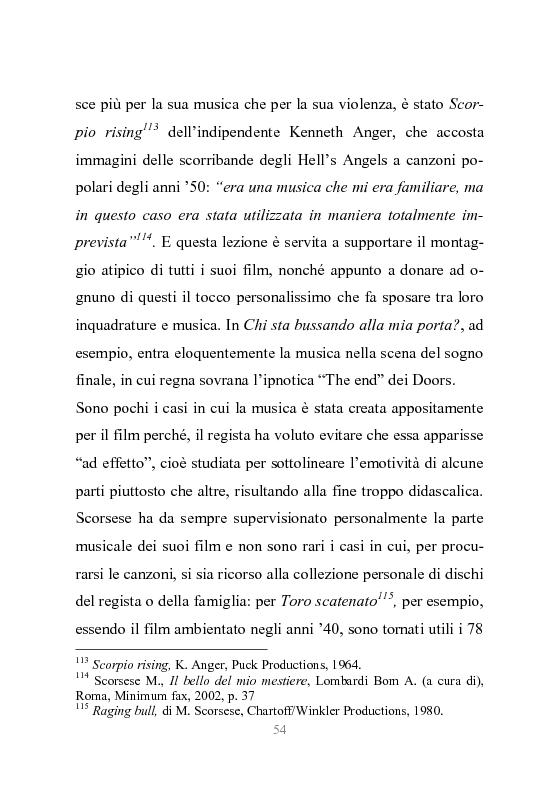 Estratto dalla tesi: New York stories. La Grande Mela nei film di Scorsese.