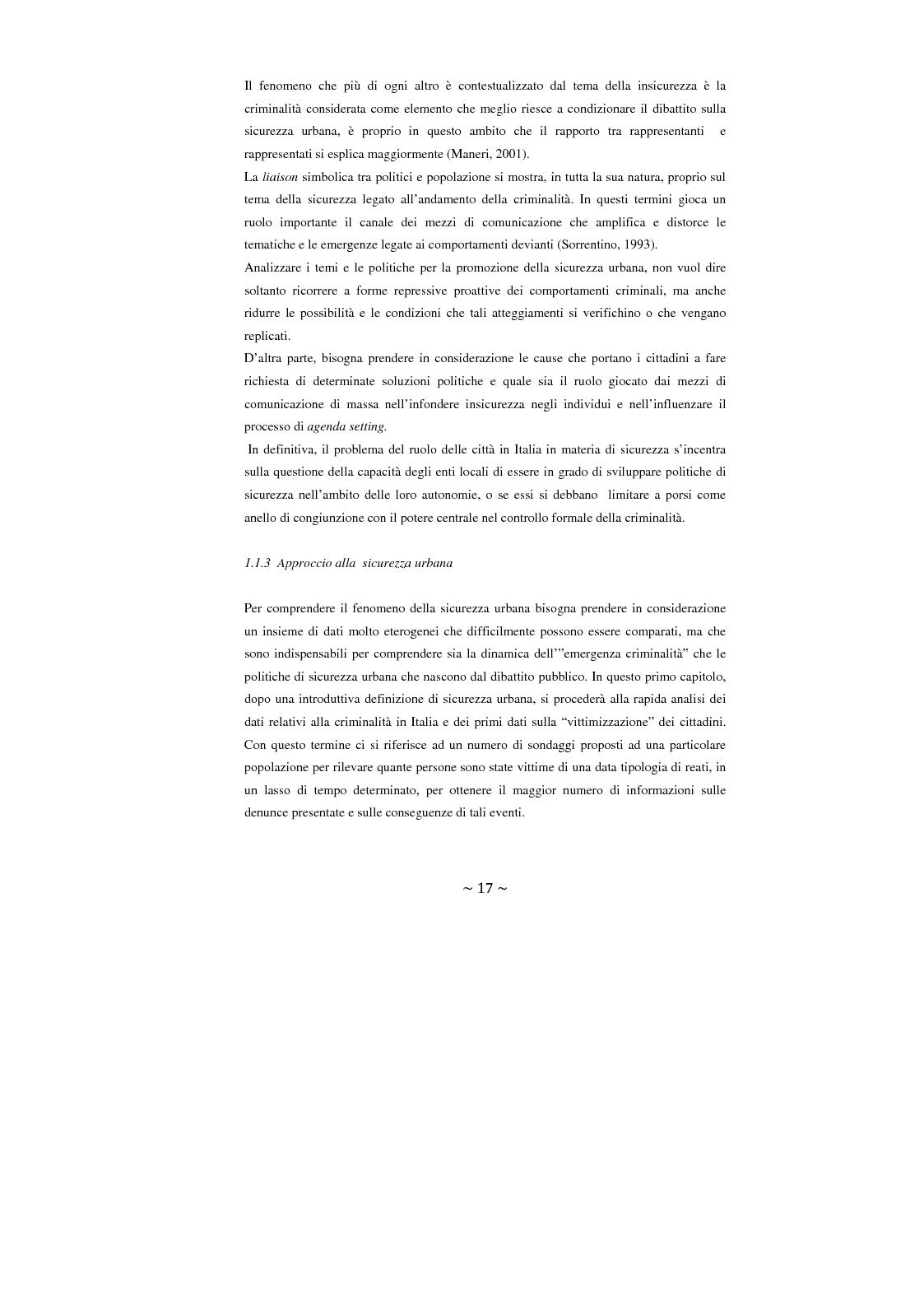Anteprima della tesi: Contrattualizzare la sicurezza urbana, Pagina 10
