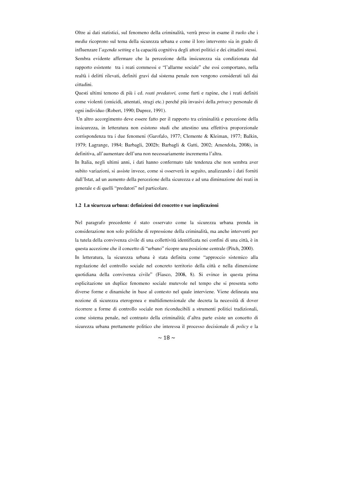 Anteprima della tesi: Contrattualizzare la sicurezza urbana, Pagina 11