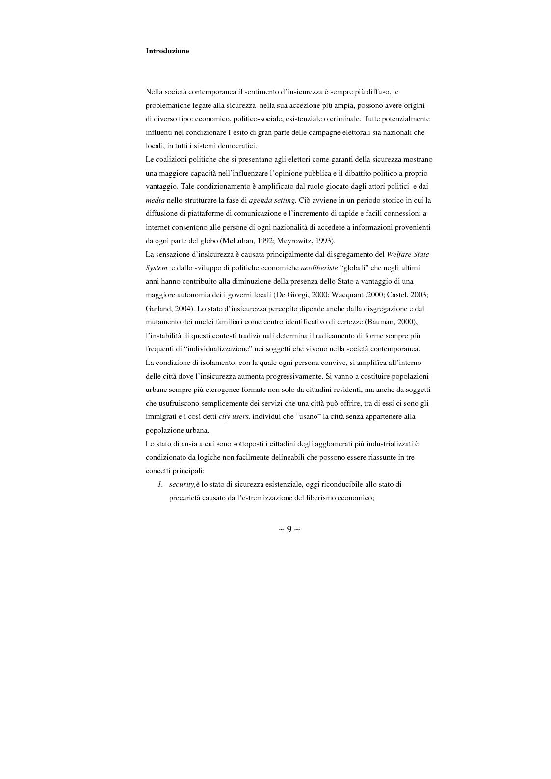 Anteprima della tesi: Contrattualizzare la sicurezza urbana, Pagina 2