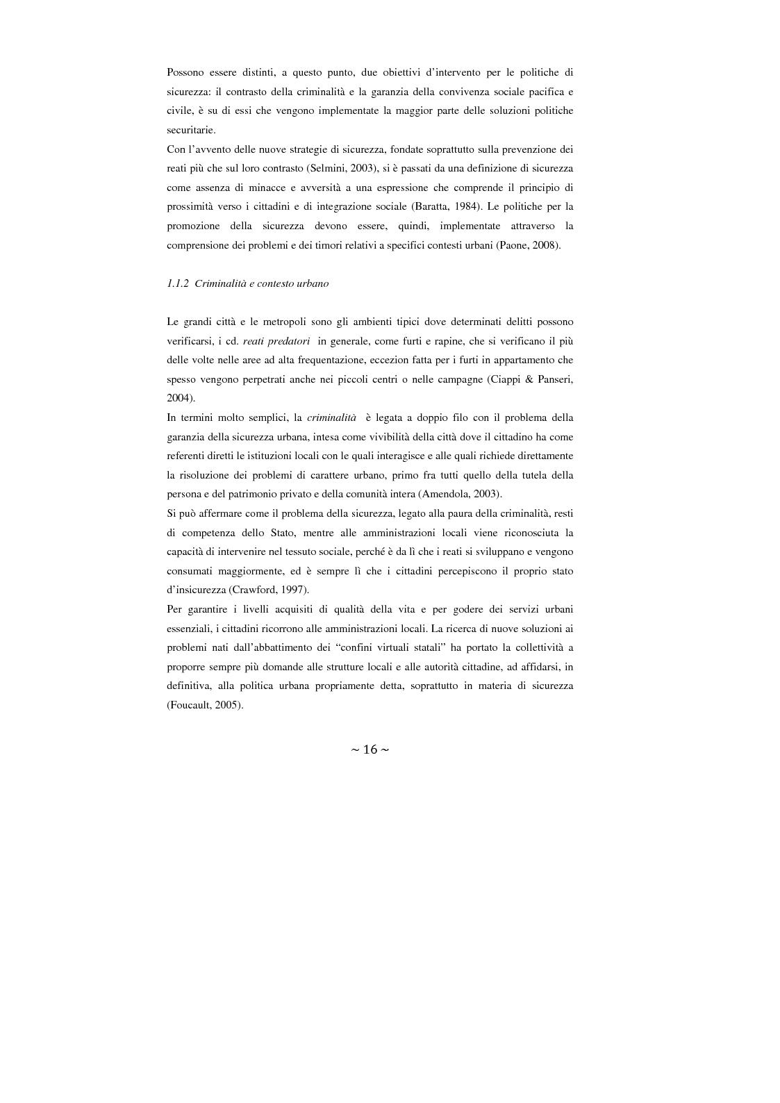 Anteprima della tesi: Contrattualizzare la sicurezza urbana, Pagina 9