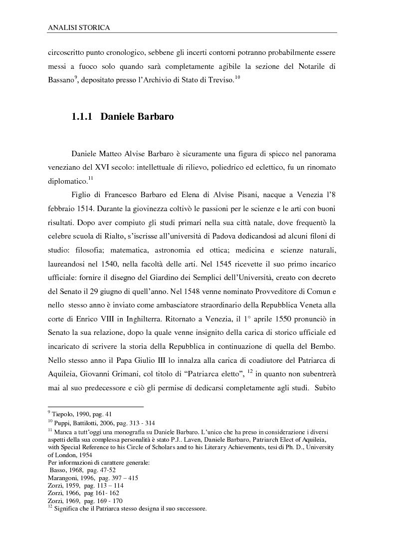 Anteprima della tesi: Il ninfeo di Villa Barbaro a Maser. Interpretazioni e problemi, Pagina 7