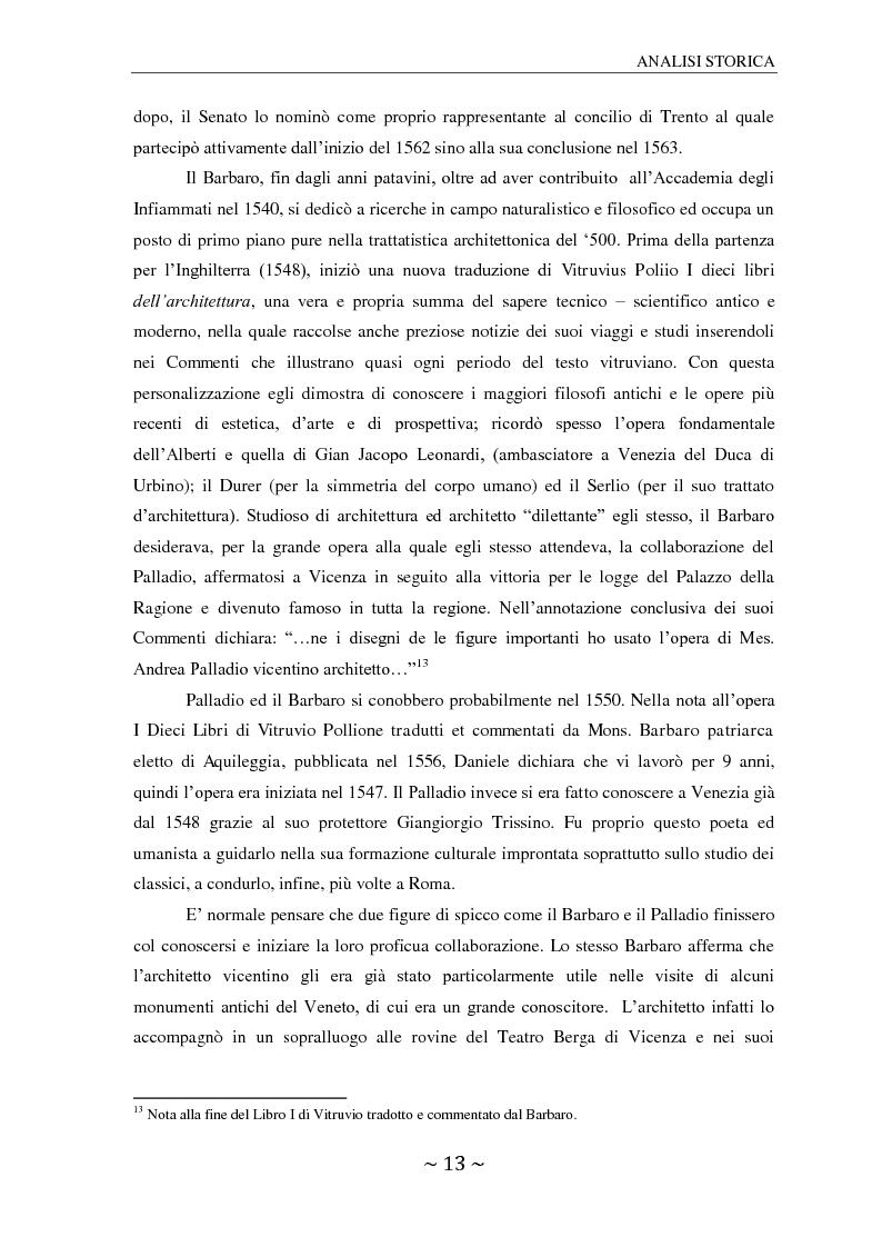 Anteprima della tesi: Il ninfeo di Villa Barbaro a Maser. Interpretazioni e problemi, Pagina 8