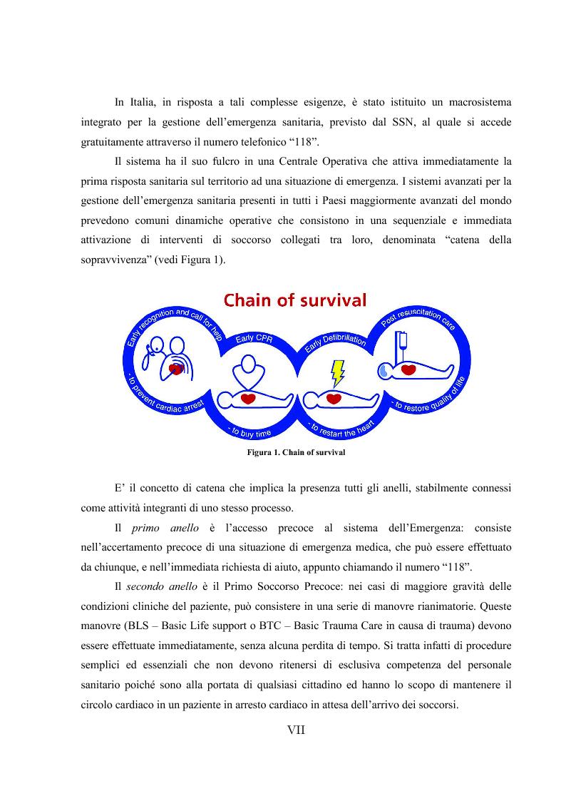 Anteprima della tesi: L'ipotermia terapeutica e le nuove linee guida 2010: una nuova prospettiva per i pazienti dopo arresto cardiocircolatorio, Pagina 5