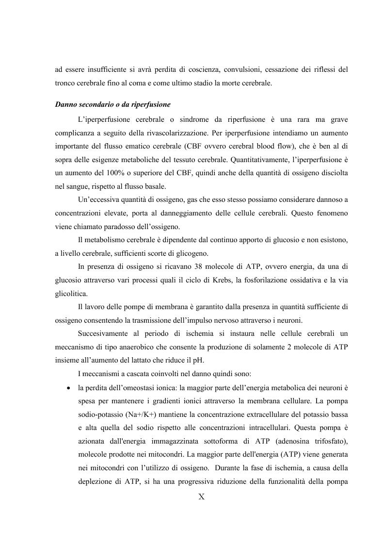 Anteprima della tesi: L'ipotermia terapeutica e le nuove linee guida 2010: una nuova prospettiva per i pazienti dopo arresto cardiocircolatorio, Pagina 8