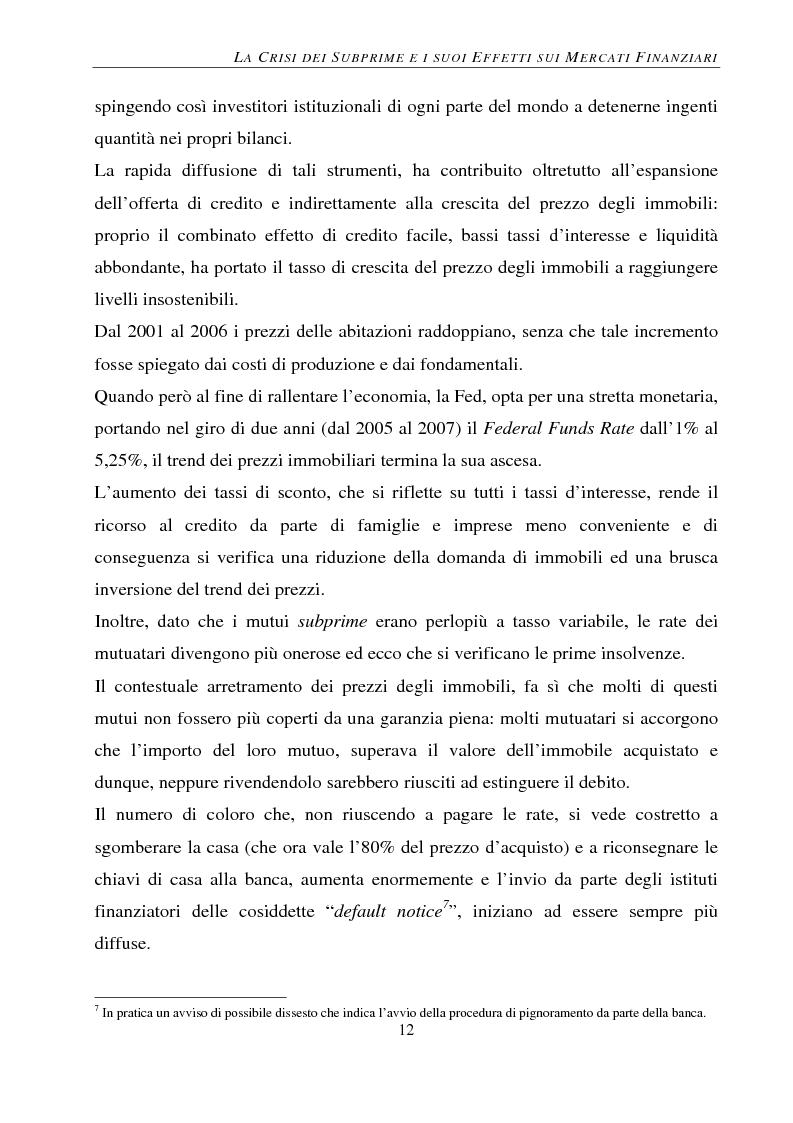Anteprima della tesi: Gli effetti della crisi sui mercati finanziari. L'eccezione del Forex, Pagina 13