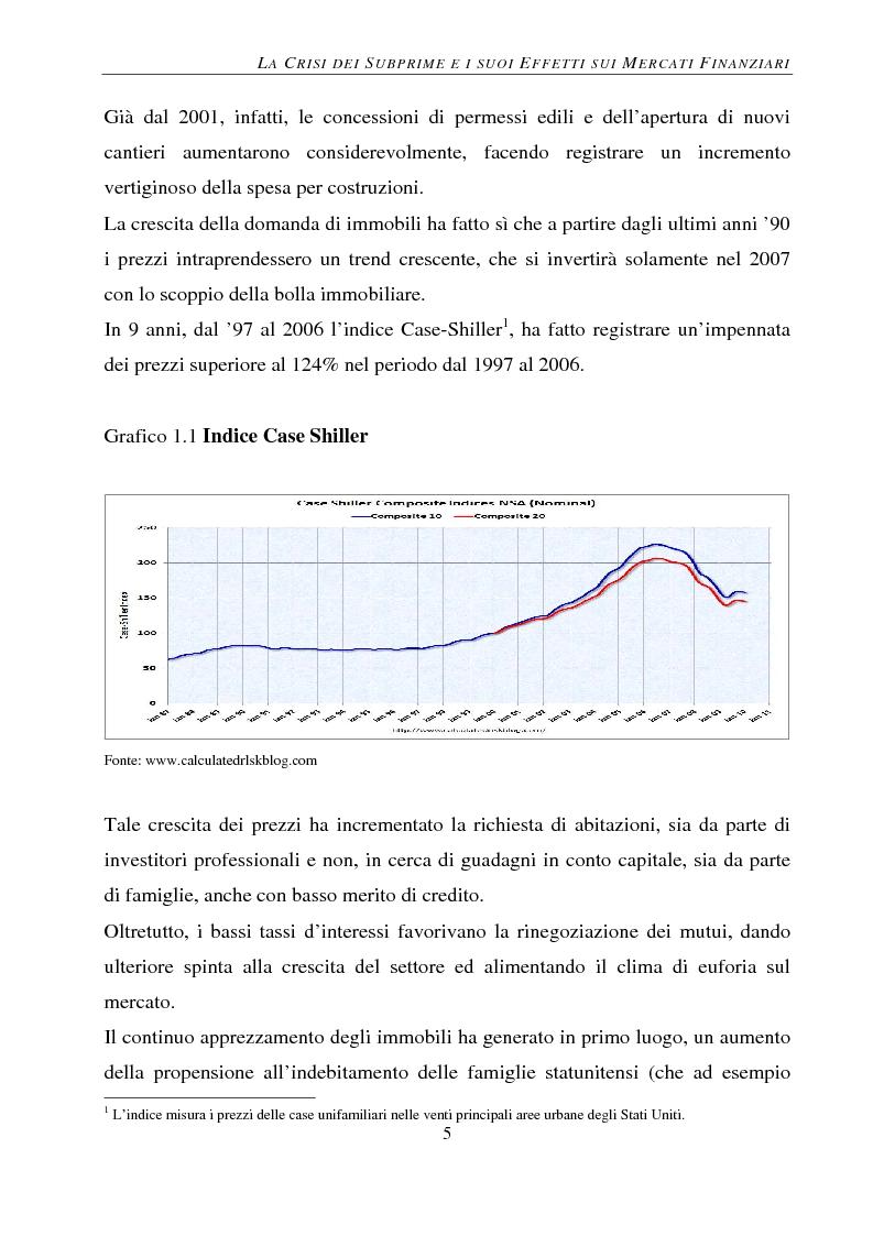 Anteprima della tesi: Gli effetti della crisi sui mercati finanziari. L'eccezione del Forex, Pagina 6