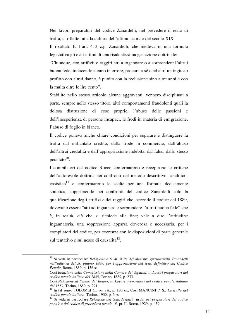 Anteprima della tesi: La frode informatica: origine, ambito di operatività ed applicazione pratica di un reato sempre più attuale., Pagina 10