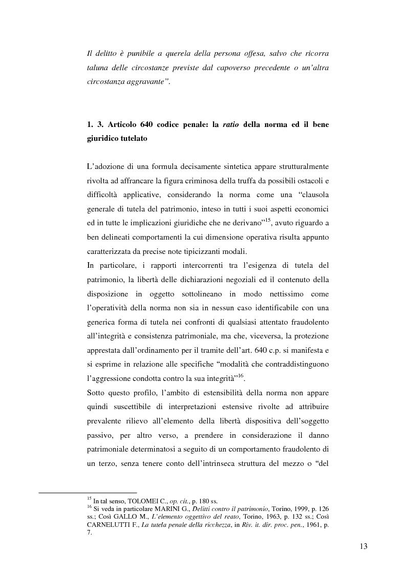 Anteprima della tesi: La frode informatica: origine, ambito di operatività ed applicazione pratica di un reato sempre più attuale., Pagina 12