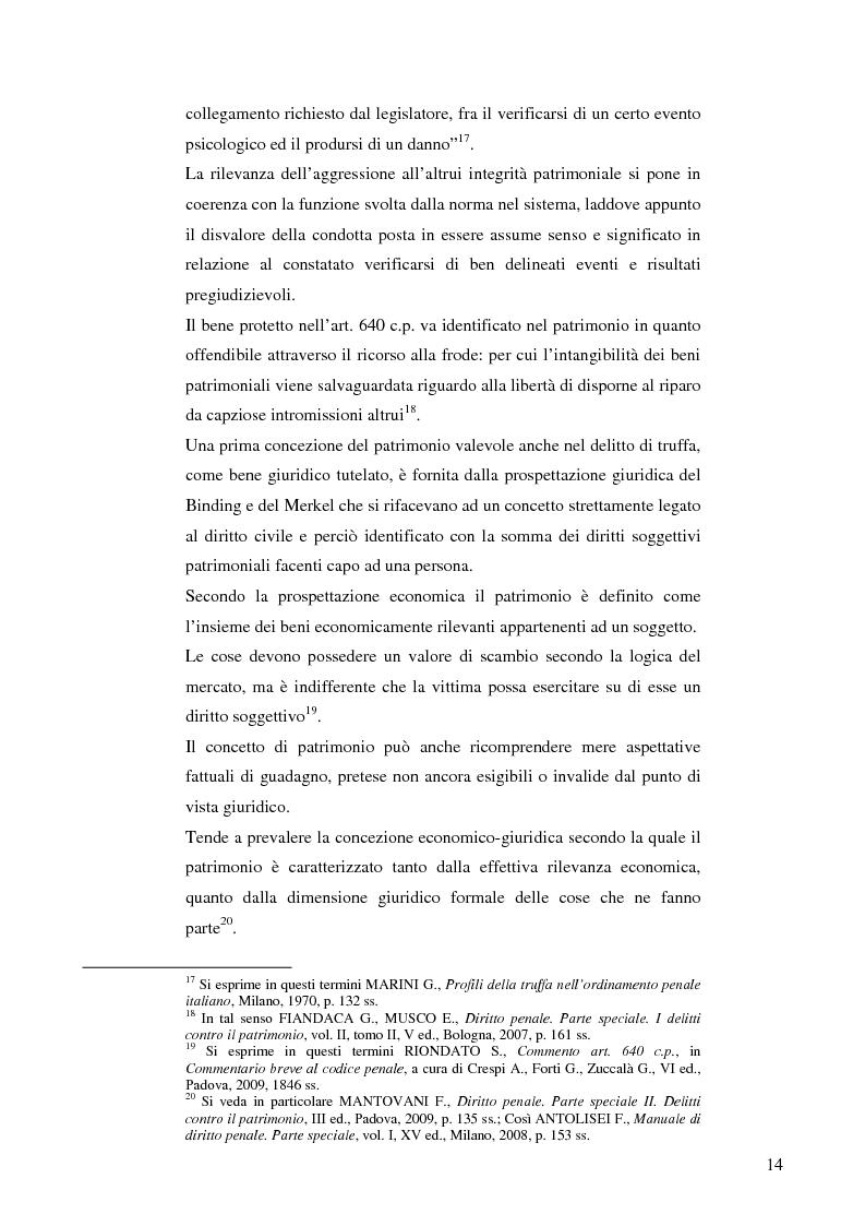 Anteprima della tesi: La frode informatica: origine, ambito di operatività ed applicazione pratica di un reato sempre più attuale., Pagina 13