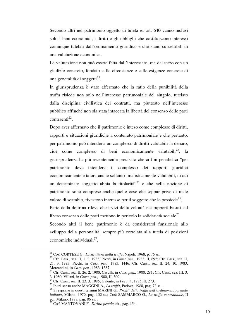 Anteprima della tesi: La frode informatica: origine, ambito di operatività ed applicazione pratica di un reato sempre più attuale., Pagina 14