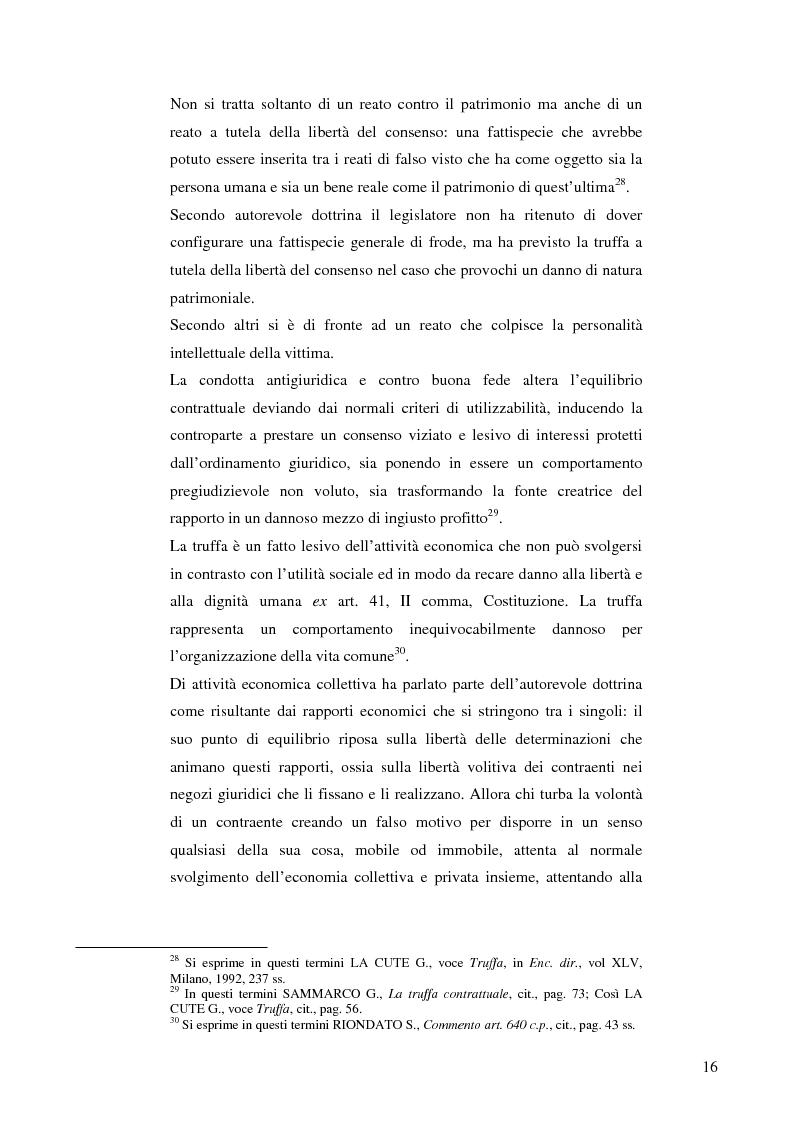 Anteprima della tesi: La frode informatica: origine, ambito di operatività ed applicazione pratica di un reato sempre più attuale., Pagina 15