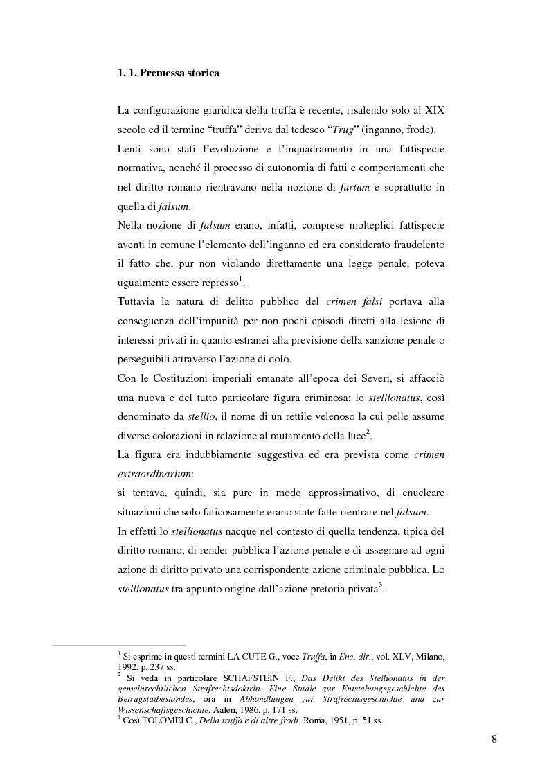 Anteprima della tesi: La frode informatica: origine, ambito di operatività ed applicazione pratica di un reato sempre più attuale., Pagina 7