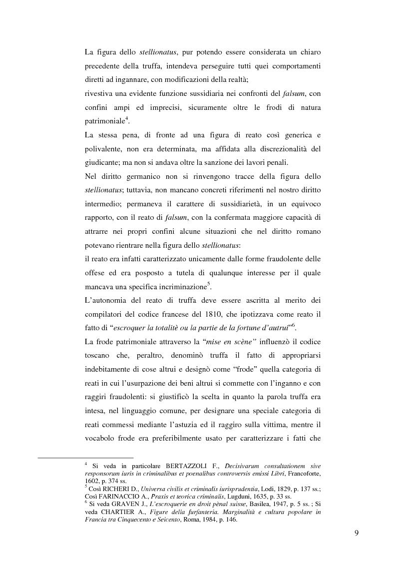 Anteprima della tesi: La frode informatica: origine, ambito di operatività ed applicazione pratica di un reato sempre più attuale., Pagina 8