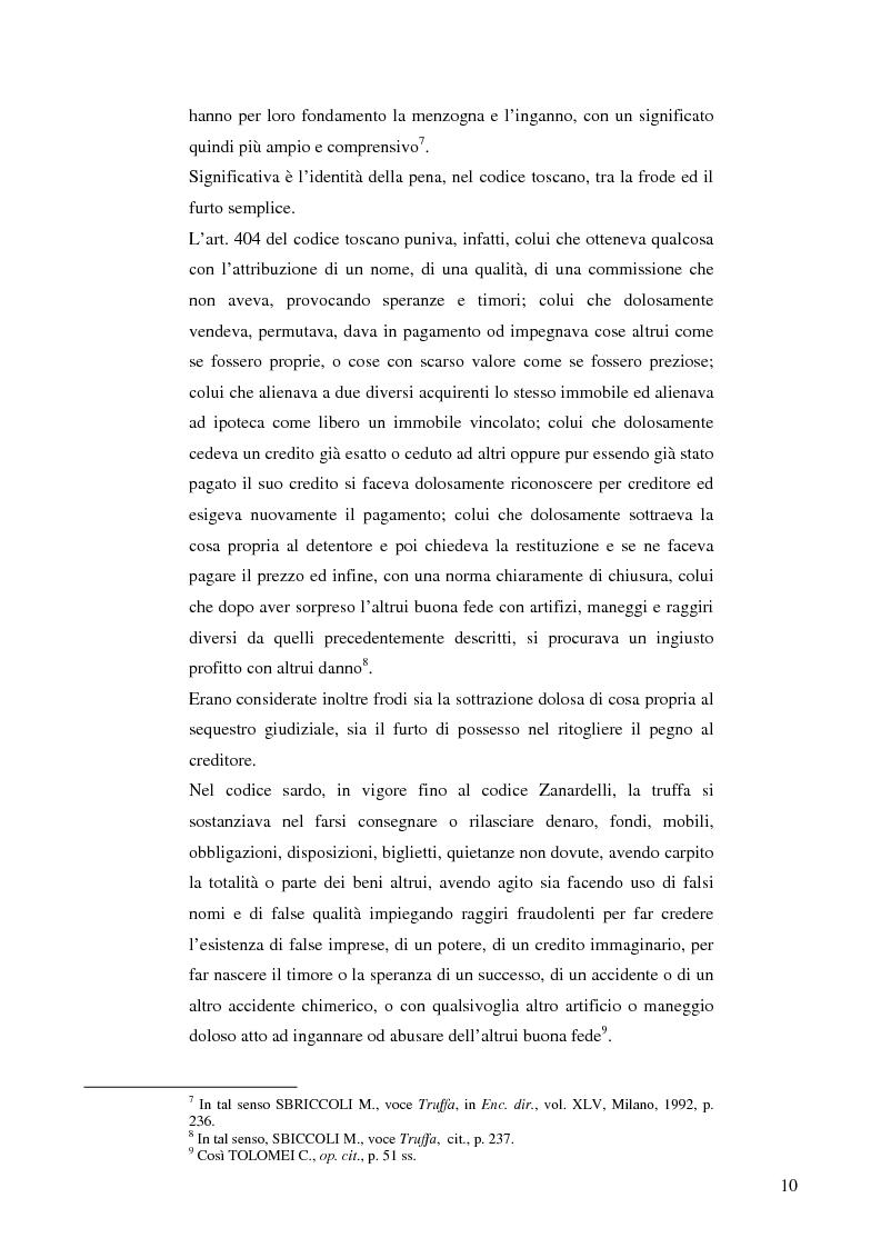 Anteprima della tesi: La frode informatica: origine, ambito di operatività ed applicazione pratica di un reato sempre più attuale., Pagina 9