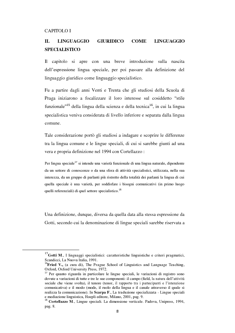Anteprima della tesi: Analisi di alcune Keywords del linguaggio giuridico nella ''Convention on the Rights of the Child'', Pagina 2