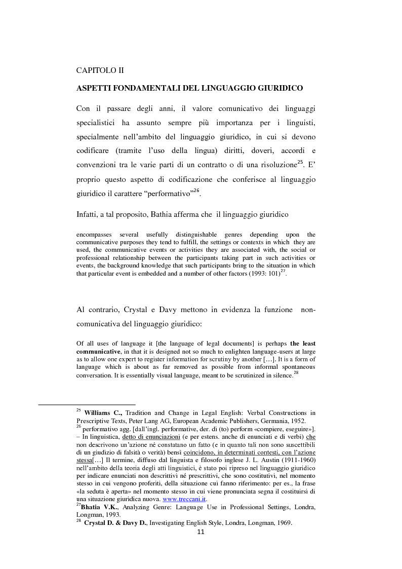 Anteprima della tesi: Analisi di alcune Keywords del linguaggio giuridico nella ''Convention on the Rights of the Child'', Pagina 5