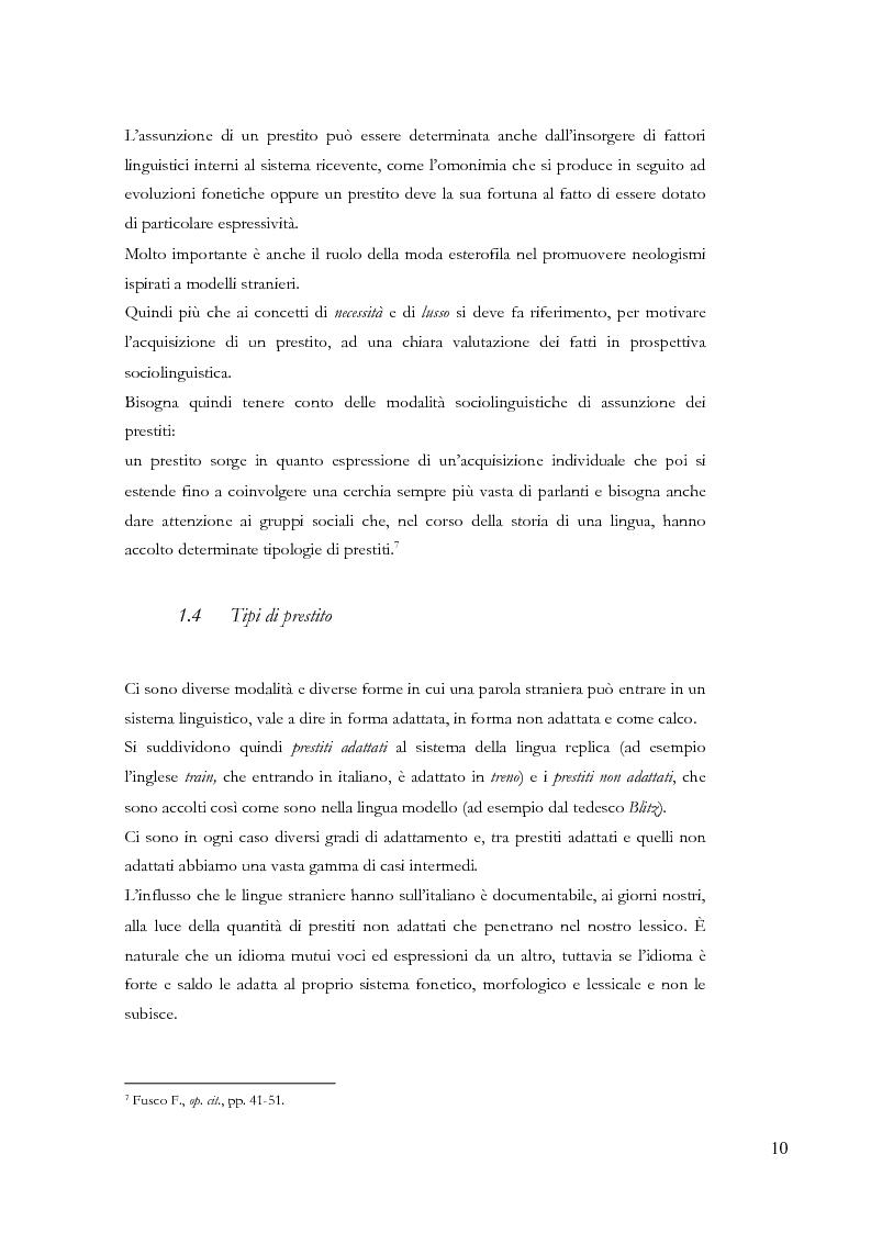Anteprima della tesi: Gli ispanismi nei dialetti lombardi: l'area lombarda-occidentale, Pagina 11