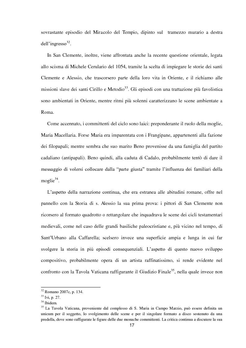 Anteprima della tesi: I dipinti murali di S. Benedetto in Piscinula a Roma, Pagina 10