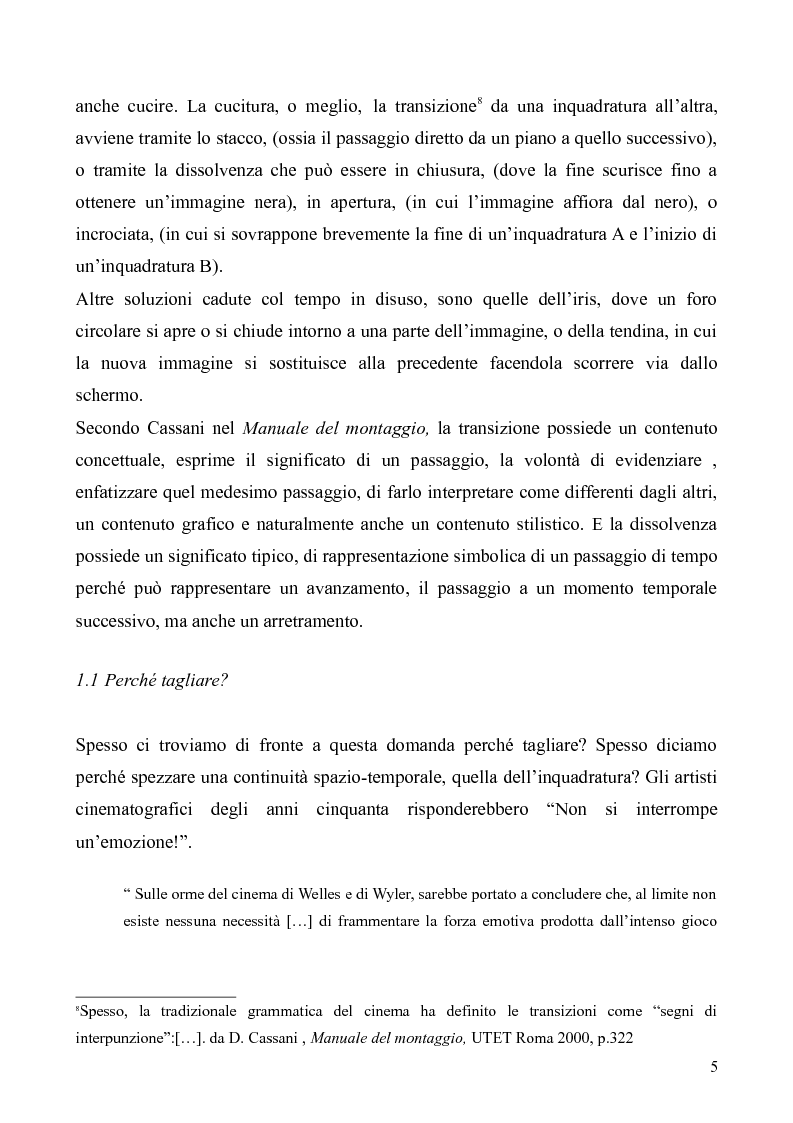 Anteprima della tesi: Il montaggio e le particolarità nel film ''Nella valle di Elah'', Pagina 4