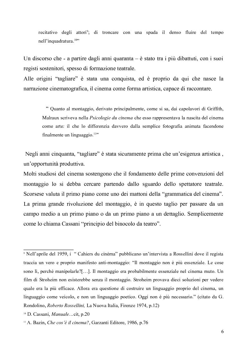Anteprima della tesi: Il montaggio e le particolarità nel film ''Nella valle di Elah'', Pagina 5